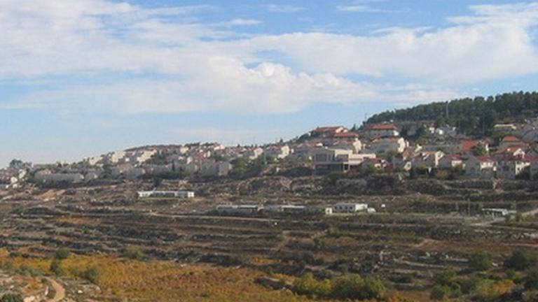 Calvo settlements Israel