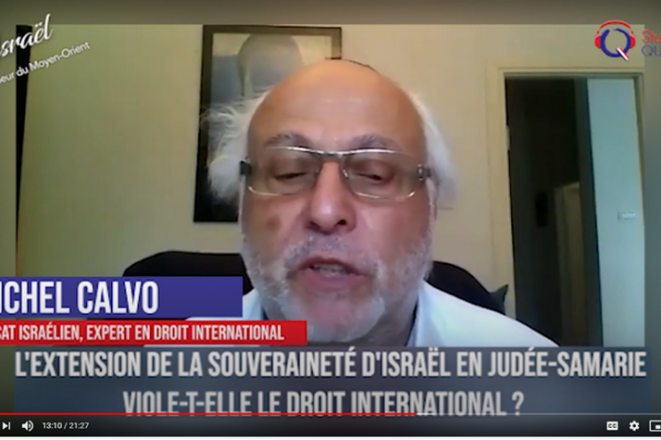 Le projet d'extension de la souveraineté israélienne viole-t-il le droit international ? Qualita