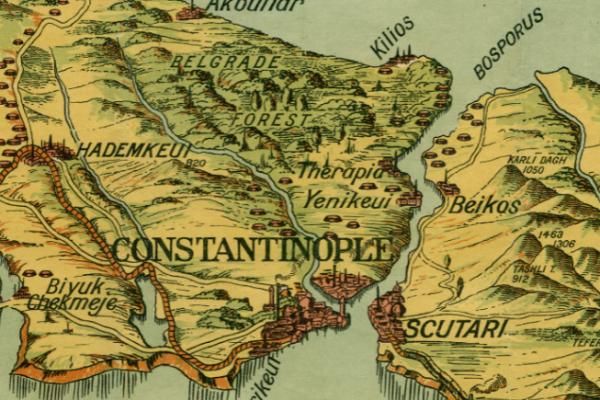Liste annexe à l'accord de Constantinople du 18 septembre 1913